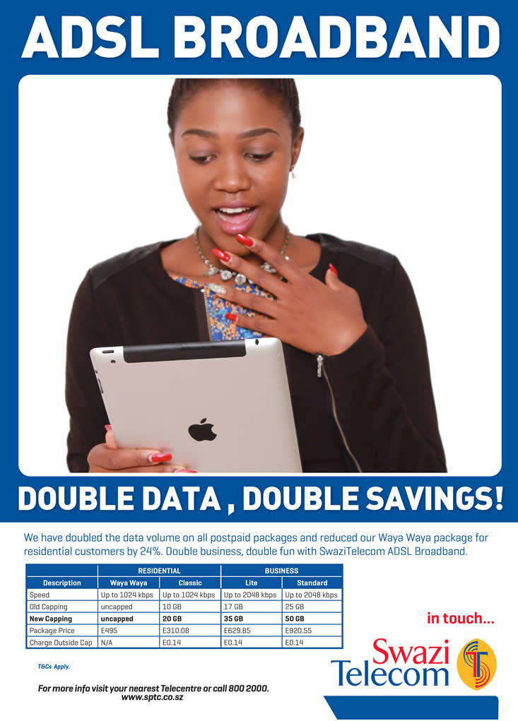 Swazi.net, a service from SwaziTelecom - a division of Swaziland Post and Telecommunications Corporation (SPTC) - 웹